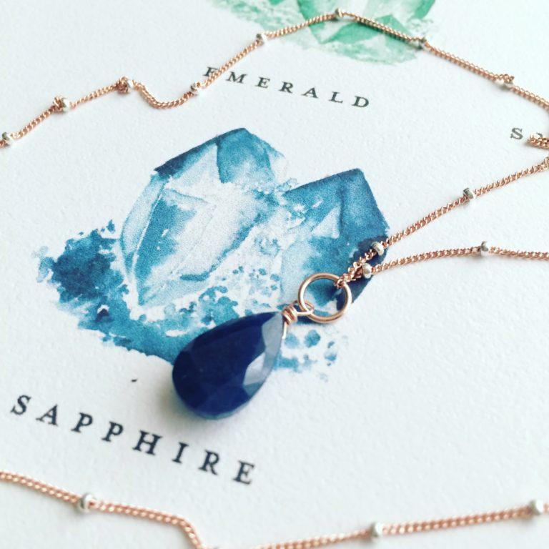 Zafiro, Brioletta Joyería Artesanal con gemas