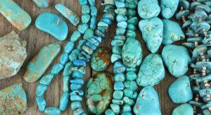 Turquesa Natural, Brioletta Joyería Artesanal con gemas
