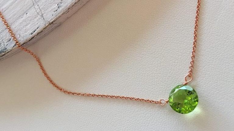 Peridoto, Brioletta Joyería Artesanal con gemas