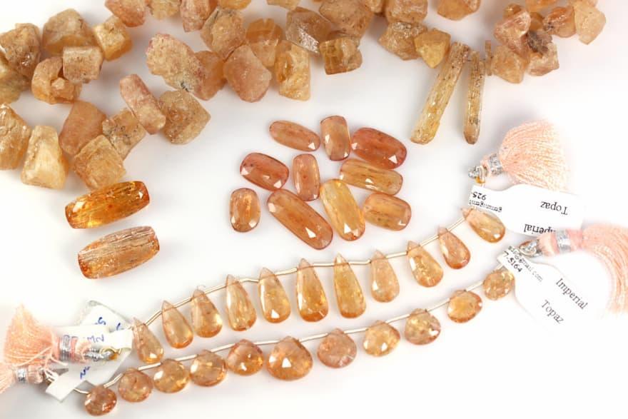 Topacio Imperial, Brioletta Joyería Artesanal con gemas