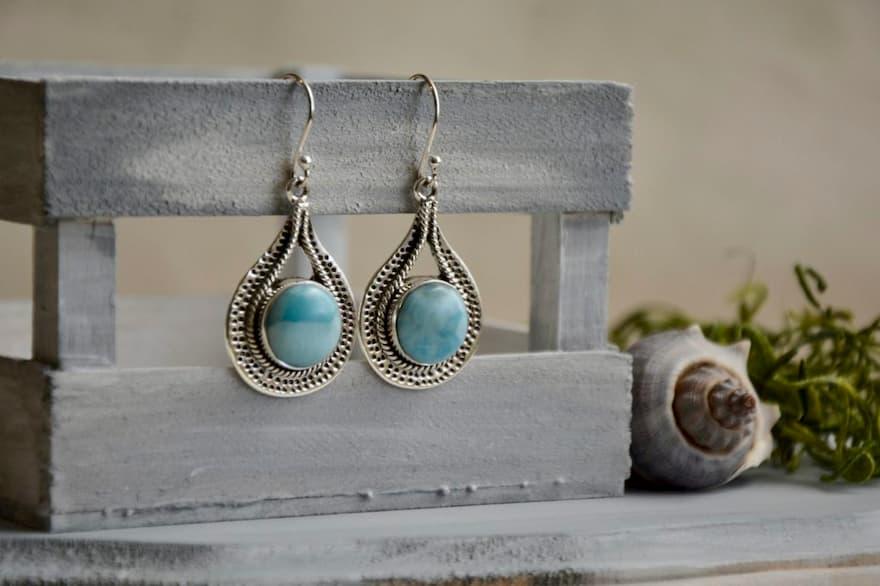 Aretes Brioletta,  Brioletta Joyería Artesanal con gemas