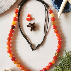 collar agata botswana gypsy